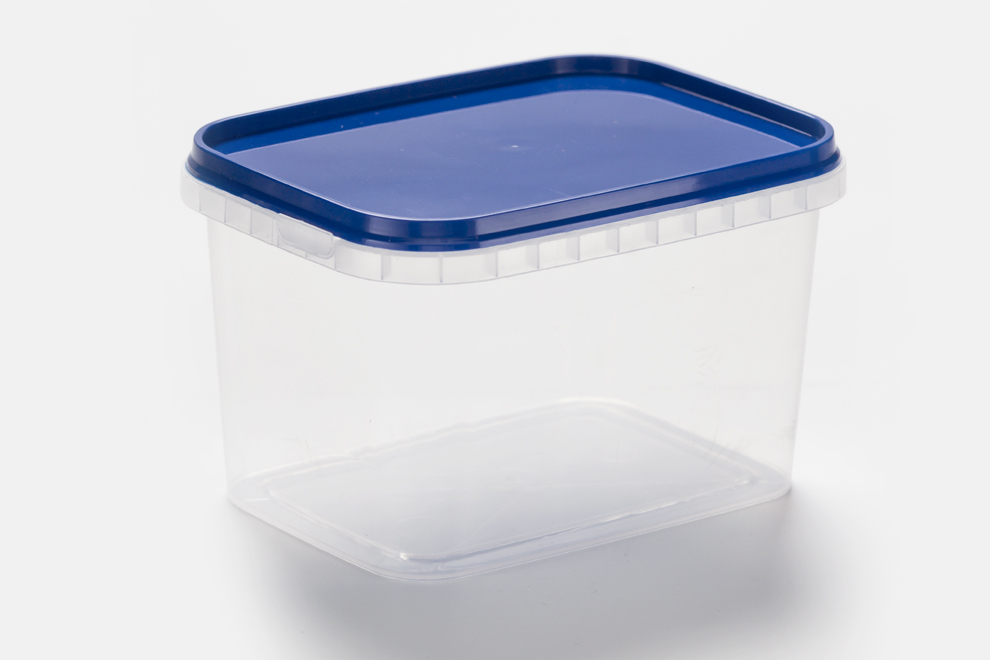 500 ml with lid and temper evident lid + container